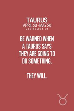 Daily Horoscope Taureau,- Read more about your Zodiac sign here – ZodiacSpot – Your all-in-one source for Astrology Daily Horoscope Taureau 2017 Description Be warned when a Taurus says they are going. Astrology Taurus, Zodiac Signs Taurus, Zodiac Star Signs, Zodiac Facts, Horoscope Capricorn, Capricorn Facts, Daily Horoscope, Astrology Signs, Turus Zodiac