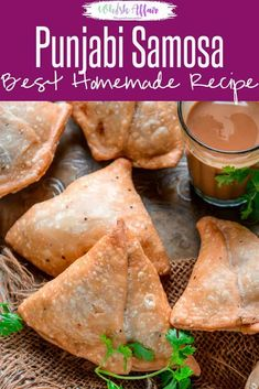 Samosa is a savory fried Indian snack which has a crispy outer crust and a spicy filling. Learn to make best Halwai style crispy Indian samosa at home using my easy recipe. Here is how to make Punjabi Samosa. Samosas, Garam Masala, Best Indian Recipes, African Recipes, Punjabi Samosa, Cilantro, Vegetable Samosa, Dried Mangoes, Tea Time Snacks
