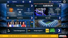 Download Dream League Soccer 2019 MOD UEFA Champions League Android Mobile Games, Free Android Games, Soccer Pro, Soccer Games, Fifa World Cup Game, Champions League Live, 2012 Games, Offline Games, Point Hacks