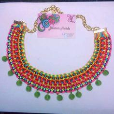 Consigue collares unicos en nuestro facebook Bisuteria Mariela E instagram @MariBisut