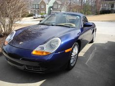 2001 Porsche Boxster - Yes, it's a girl's car.  Still, it's beautiful and fun, if not fast.  Mine turned out to be stolen, chopped, and sold on a reputable lot...  With a heavy heart, I took it back.  Then I bought an M Roadster.  Wow!