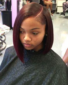 Black Girl Bob Hairstyles, Wig Hairstyles, Straight Hairstyles, Girl Haircuts, Quick Weave Hairstyles Bobs, Pretty Hairstyles, Teenage Hairstyles, Hairstyles 2016, Short Haircuts