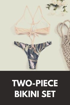 Take advantage of the summer spirit and freshness of the floral print to wear all kinds of flowers ... bikini outfits // summer bikinis // swimsuit bikini // bikini outfit ideas // #bikinioutfits #summerbikinis #swimsuitbikini Floral Lace, Lace Up, Floral Bikini Set, Bikini Outfits, Summer Bikinis, Two Piece Bikini, Floral Prints, Swimsuits, Outfit Ideas
