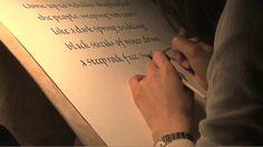 """文字書く人たち −カクトキ・カクオト・カクコトバは、2010年12月26日に東京池袋 自由学園明日館(重要文化財指定)にて開催された、ジャパン・レターアーツ・フォーラム主催イベントです。  カリグラファーを中心とした15名の書き手による、純粋に「書くこと」に焦点をあてた静寂のライブパフォーマンスで、この映像はそのドキュメンタリーです。当日は音声による説明を一切加えず、静寂の中書き手たちが2時間にわたって文字を書き続けました。このドキュメンタリーでは、書き手たちが話す文字の解説をお聞きいただくことができます。会場にお越し下さった皆様にも、違った視点でお楽しみいただける内容となっています。  ーーーーーーーーーー  「文字書く人たち」はブロディ・ノイエンシュヴァンダー氏発案の「A Brush with Silence」を元に構成しています。  This writing performance originated from """" A Brush with Silence"""", an idea developed by Brody Neuenschwander.   ーーーーーーーーーー…"""