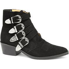 TOGA - Lorna suede ankle boots   Selfridges.com
