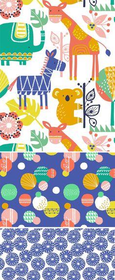 wendy kendall designs – freelance surface pattern designer » geo jungle: