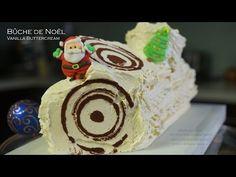 Bûche de Noël, Vanilla Buttercream Yule Log – Bruno Albouze – THE REAL DEAL - YouTube