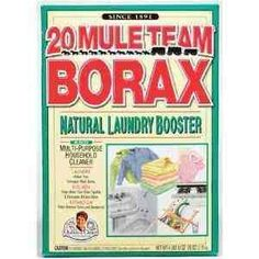 borax-best way to clean & remove soap scum