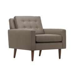 """Edgar Blazona: he's single-handedly reinvented """"modern,"""" and now brings that edge to Dot & Bo. Much like us, his designs always tell a story, one where every component is vital. Such is the case with t...  Find the Allaire Chair, as seen in the #Mid-Century Monochrome Collection at http://dotandbo.com/collections/mid-century-monochrome?utm_source=pinterest&utm_medium=organic&db_sku=117402"""