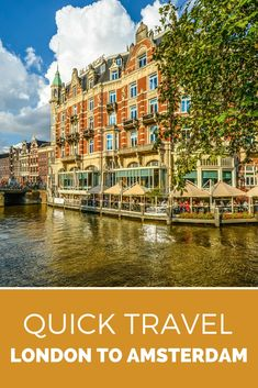 Fancy a weekend break to Amsterdam, from the UK? Eurostar is now running directly from London Pancras to the heart of Amsterdam! This is what you should do on a weekend break. Weekend Breaks, Weekend Trips, Vacation Trips, Weekend Getaways, Study Abroad London, Quick Travel, Cruise Travel, London Travel