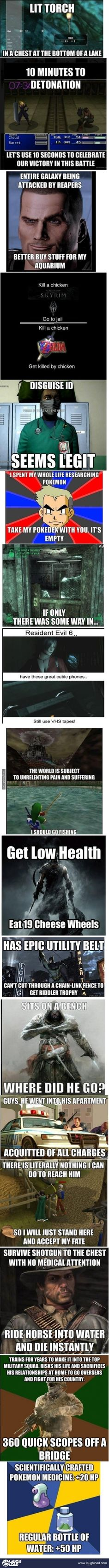 Gaming WTFs