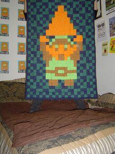 Legend of Zelda quilt