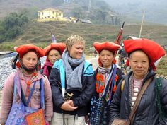 Travel with people ethnic minority in Sapa