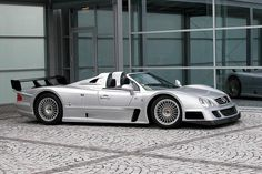 """Mercedes 2002 """"CLK GTR Super Sport"""" Only 7 ever made"""