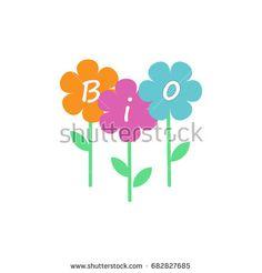 Bio vector logo design template. Eco concept symbol icon. Company logo, business emblem