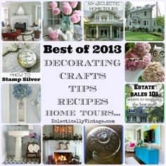 Best of 2013 at EclecticallyVintage.com http://eclecticallyvintage.com/