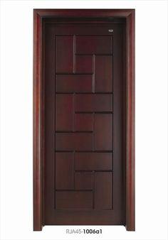 Main door design entrance for flats ideas for 2019 Wooden Main Door Design, Door Gate Design, Door Design Interior, Bedroom Door Design, Modern Wooden Doors, Wooden Front Doors, Wood Doors, Modern Door, Barn Doors