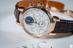 IWC Da Vinci Perpetual Calendar Chronograph - Horbiter's LIVE Report - SIHH 2017 Dream Watches, Luxury Watches, Iwc Watches, Watches For Men, Perpetual Calendar, Watch Brands, Chronograph, Omega Watch, Infinity