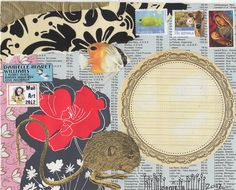 Danielle Maret - Mail art -191, via Flickr.