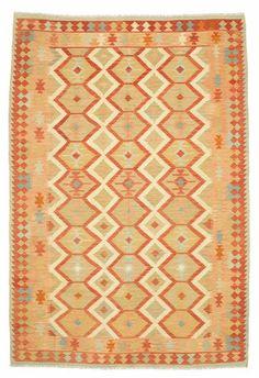 Kelim Afghan Old style tapijt 298x198