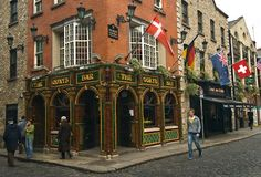 The Quays Bar. Our favorite hangout in Dublin where Claire (and sometimes Mary) were harmlessly hit upon by a variety of Dubliners.