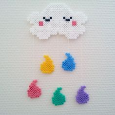 Cloud hama beads by randigakatten
