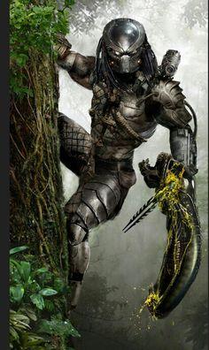 """The Pradator """"bodies"""" an alien. Found on deviantart"""