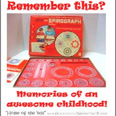 Childhood Memory - @Jennifer Milsaps Kakakaway didn't you have this?   Someone did and i used it all the time!