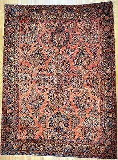 "Sarough Persian Rug - 8' 6"" x 11' 9"" - #Sarouk #Sarugh #Saruk #Sarough #antiquecarpet #antiquecarpets #antiquerug #antiquerugs #carpets #handknotted #handknottedrug #handmade #iran #iranianrug #oldcarpet #orientalcarpet #orientalcarpets #orientalrug #orientalrugs #persiancarpet #persiancarpets #persianrug"