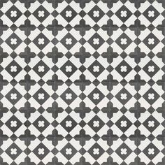 Moroccan & Encaustic Cement Tiles By Jatana Interiors Miami Art Deco, Tile Layout, Mosaic Wall Tiles, Black And White Tiles, Encaustic Tile, Mosaic Designs, Tile Patterns, Interior Styling, Tile Floor