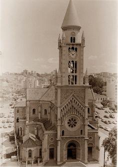 : Igreja da Consolação; Rua da Consolação - foto de setembro de 1953 2