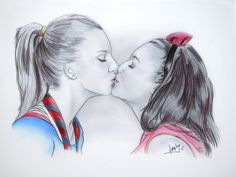 brittana glee by karlyilustraciones on DeviantArt Glee Santana And Brittany, Yuri, Lgbt, Memes, Glee Cast, Bunny Crafts, Art Series, Book Tv, Sweet Couple