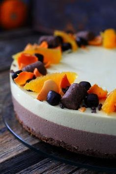 Cheesecakes, Christmas Time, Berries, Food And Drink, Candy, Chocolate, Baking, Sweet, Desserts