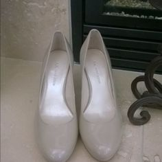 Anne Klein high heels. Beautiful AK pumps nude color, worn once, very nice and comfortable. Make an offer!! Anne Klein Shoes Heels