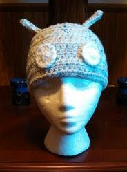 cream colored #android beanie with little flecks of color. Super cute!
