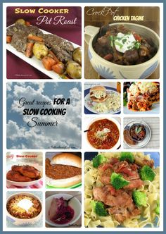 It's a slow cooking summer!  Here are 11 great tasting slow cooker meals that taste great and won't heat up your kitchen while you cook.  Get the recipes at http://thegardeningcook.com/11-recipes-slow-cooking-summer/