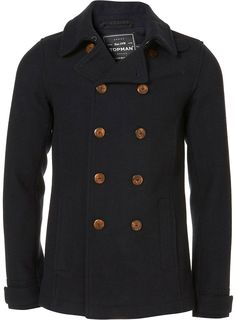 Really cool peacoat.