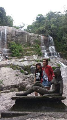 Cachoeira da Escada - Ubatuba - Brasil - 30/11/2014 - Com Luleta
