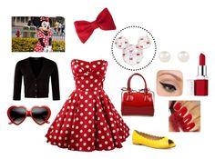 """""""Miss Minnie dapper day"""" by misstiffiniemae on Polyvore"""