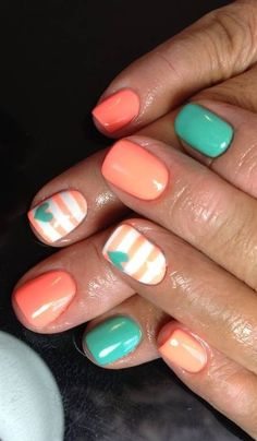 Cute spring/summer time nails