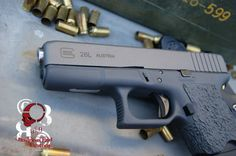 Rob Pincus' Business End Customs Glock 26L - Melted Corners