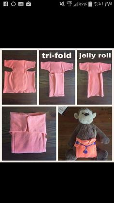 Tshirt diaper (good idea for inserts maybe )