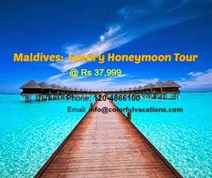 Luxury Honeymoon Tour with Underwater Restaurants in Maldives: www.maldives-tour-packages.blogspot.com #MaldivesLuxuryHoneymoonTour #ColorfulVacations #honeymoonpackages #tourpackages #colorfulvacation