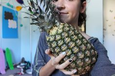 Two of my fav things: pineapples and Tumblr
