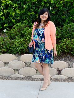 Style Round-Up: Summer Citrus. OOTDs featuring citrus shades for summer style inspiration. Plus size fashion, travel, and lifestyle blogger at www.withwonderandwhimsy.com. #ootd #psootd #plussizefashion #fashionblogger #outfit