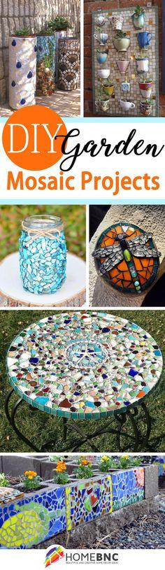 DIY Garden Mosaic Ideas