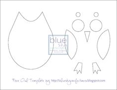 Free Owl Template download