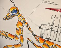 "Check out new work on my @Behance portfolio: ""Animal-machines sketches"" http://on.be.net/1VljTRj"