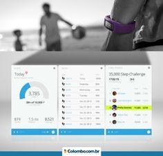 Controle seu exercício físico com a pulseira Vivofit! São vários recursos para sua saúde e bem-estar: http://www.colombo.com.br/produto/Esporte-e-Lazer/Pulseira-Bem-Estar-Vivofit?utm_source=Pinterest&utm_medium=Post&utm_content=Pulseira-Bem-Estar-Vivofit&utm_campaign=Produto-14ago15