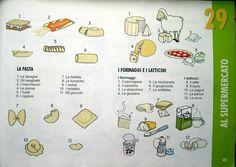 Pag 39 Fare la spesa: pasta e formaggi